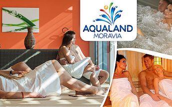 Celý den v saunovém světě Aqualandu Moravia