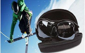 Sluneční brýle s DVR kamerou a fotoaparátem