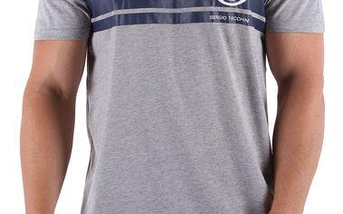 Klasicky střižené pánské tričko Sergio Tacchini