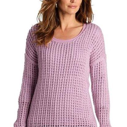 Stylový dámský pletený svetr
