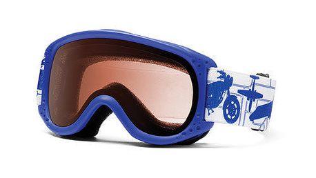 Dětské světle modré lyžařské brýle Smith Optics