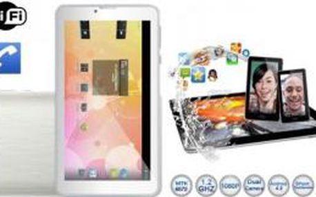 """Tablet 7"""" a telefon na 2x SIM se systémem Android 4.2 v jednom"""