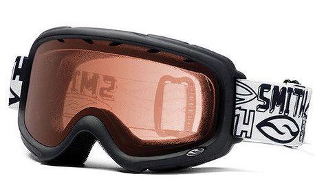 Černé snowboardové brýle Smith Optics