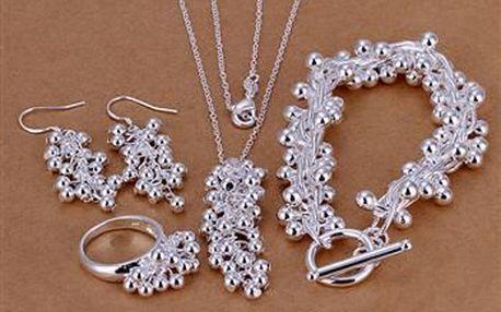 Sety šperků z mincovního stříbra