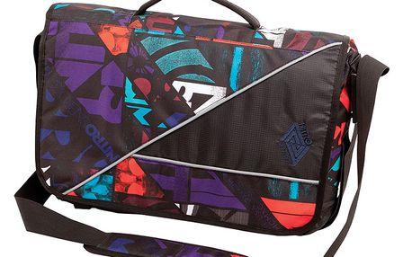 Designová taška Nitro Evidence XL Bag gridlock