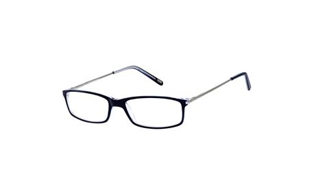 Unisex černé obroučky s tenkými stranicemi Ralph Lauren