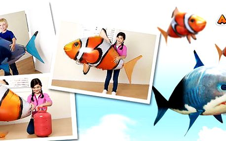 Skvělá a zábavná létající ryba Airswimmer