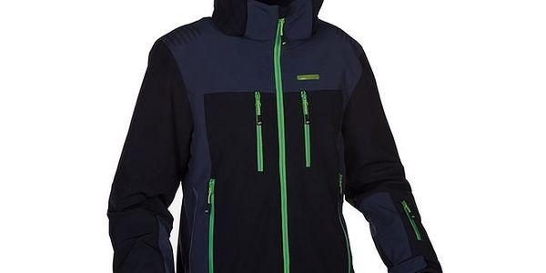 Pánská černá softshellová bunda s kapucí Envy