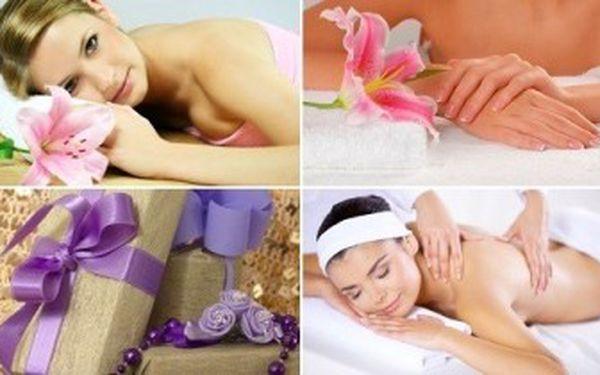 6 rozmazlujících procedur pro ženy. Balíček masáží a zkrášlujích procedur potěší každou ženu.