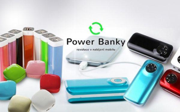 POWER BANK! Externí baterie s kapacitou až 20 000 mAh! Kompatibilní takřka se všemi zařízeními!
