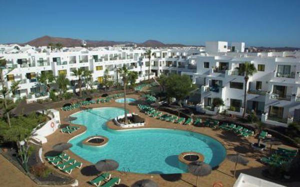 Kanárské ostrovy, oblast Lanzarote, letecky, snídaně, ubytování v 3* hotelu na 8 dní