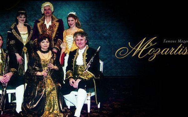 Vstupné 1. kat. na Mozartissimo ve Stavovském divadle