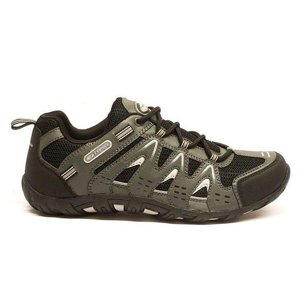 Pánské nízké trekové boty Numero Uno - černé