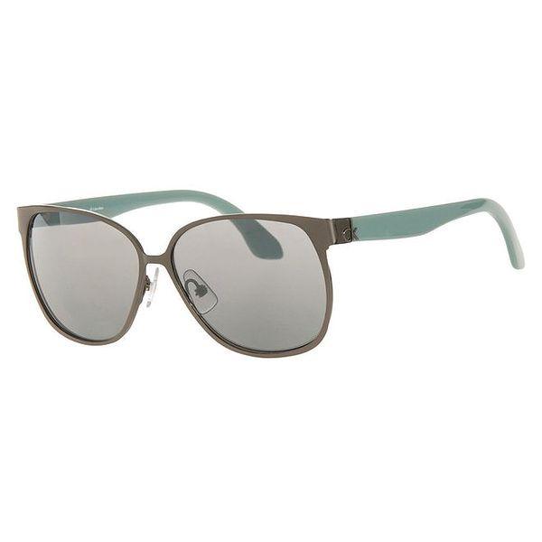 Dámské sluneční brýle s oválnými obroučkami Calvin Klein