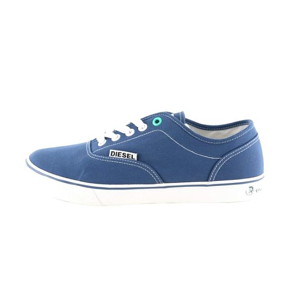 Dámské nízké modré tenisky Diesel