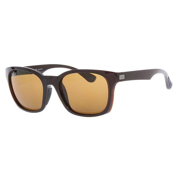 Dámské tmavě hnědé polarizované sluneční brýle Ray-Ban