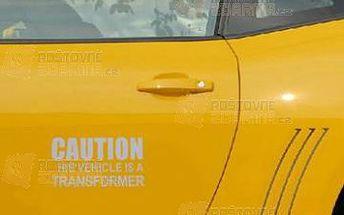 Nálepka na auto Caution This Vehicle Is Transformer a poštovné ZDARMA! - 9999914877