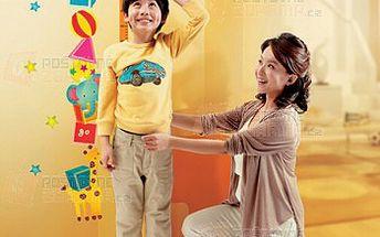 Veselý metr na zeď pro děti a poštovné ZDARMA! - 9999914871