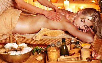 65 minut terapeutické péče s masáží a rašelinovým ...
