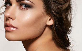 Kosmetické ošetření pleti s biostimulačním laserem a gumage