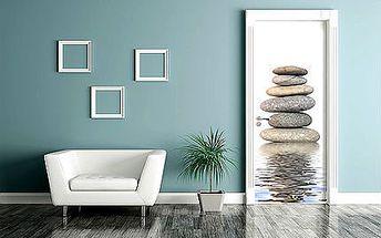 Samolepicí vinylová fototapeta na dveře - 10 motivů