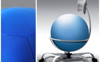 Zdravotní židle s balónem Air Seating