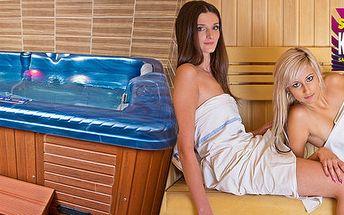 90 min v privátní sauně a vířivce pro 2-4 osoby