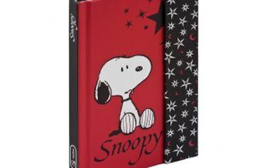Snoopy 2, magnetic notes - 10,5x15,8 cm, linkovaný