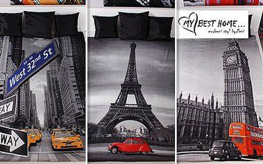 Fleecové deky s fotopotiskem s pestrými motivy: 2 velikosti