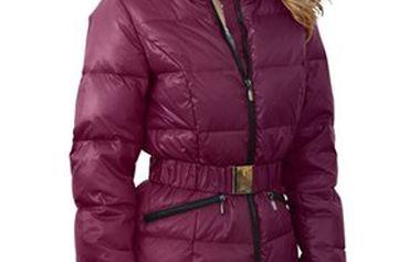 Dámský kabát se stojacím límcem