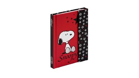 Snoopy 2, magnetic notes - 10,5x15,8 cm, linkovaný