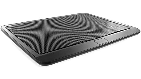 4World Chladicí podložka pro notebooky 10'' - 14'', 1 ventilátor