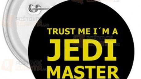 Placka JEDI MASTER a poštovné ZDARMA! - 9999911252