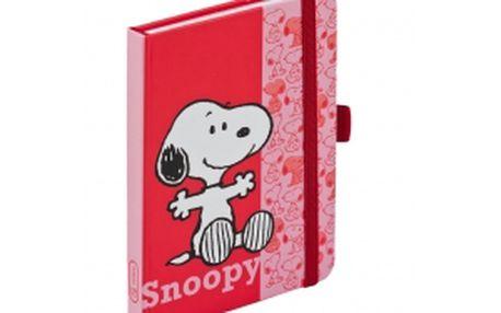 Snoopy, journal notes - 9x13 cm, linkovaný