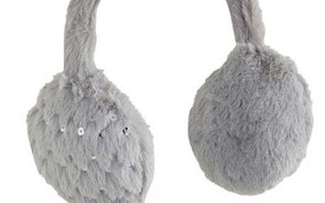 Dětské klapky na uši z měkkého kožíšku
