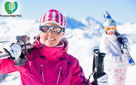 Zimní dovolená v Peci pod Sněžkou s lyžováním zdarma