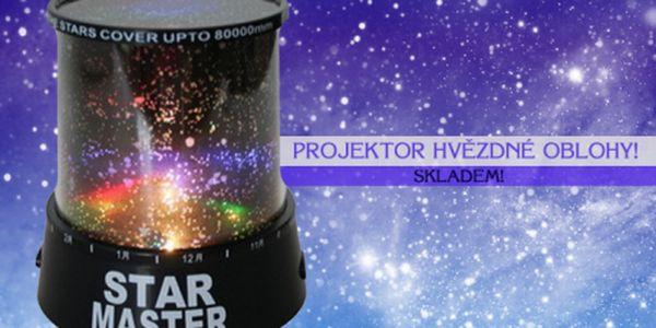 Unikátní projektor hvězdné oblohy, který promění každý prostor v romantické místo pod hvězdami! Objevujte nové galaxie z pohodlí domova a usínejte pod hvězdnou oblohou... Zboží je pro vás připraveno IHNED K ODBĚRU: osobně na Praze 1 nebo dovoz kurýrem!