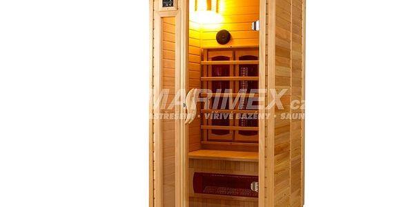 Infrasauna Standard nabízí nejlevnější a nejjednodušší možnost saunování v pohodlí domova