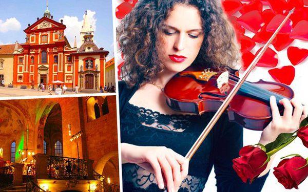 Koncert klasické hudby v bazilice sv. Jiří