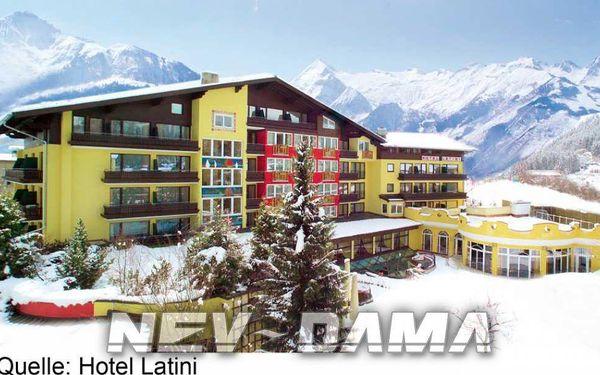 Hotel Latini, Kaprun - Zell am See, Rakousko, vlastní doprava, polopenze