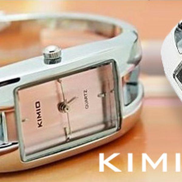 Dámské hodinky Kimio: nadčasový design, kvalitní zpracování. 2 barvy ciferníku!