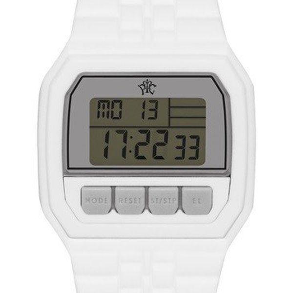 Pánské digitální hodinky Electro bílé