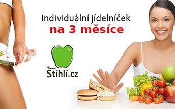 Sestavení jídelníčku na míru na 3 měsíce + sportovní podprsenka jako dárek pro pohodlné cvičení