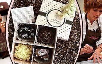 Vánoční čokoládový workshop u Lucie Glaister