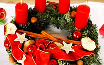 Adventní věnce z normandské jedličky: vánoční atmosféra v 5 barvách!