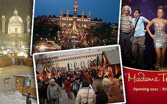 Nezapomenutelná vánoční Vídeň spolu s návštěvou muzea Madame Tussauds - voskových figurín