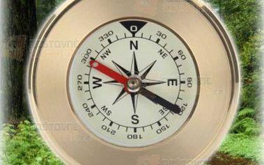 Kapesní kompas pro cestovatele a poštovné ZDARMA! - 9999904550