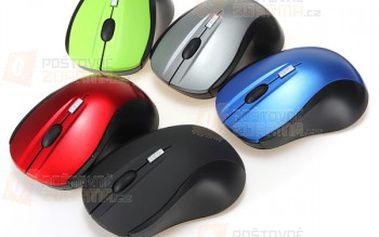 Bezdrátová optická myš - na výběr z 5 barev a poštovné ZDARMA! - 9999903994