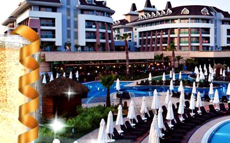 SILVESTR v 5* hotelu Sherwood D.R. na Turecké Riviéře. Odlet z Bratislavy. V ceně strava, wellness a výlety!