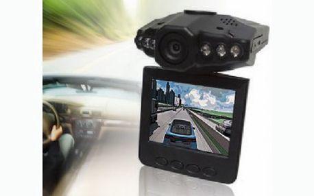Přenosná kamera do auta a interiérů! Kameru stačí připevnit na čelní sklo a mít tak veškeré dění kolem vás monitorováno!